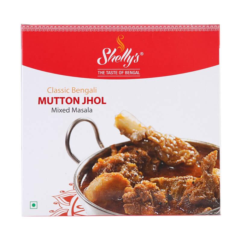 Shelly's Classic Bengali Mutton Jhol Masala (10 X 10)