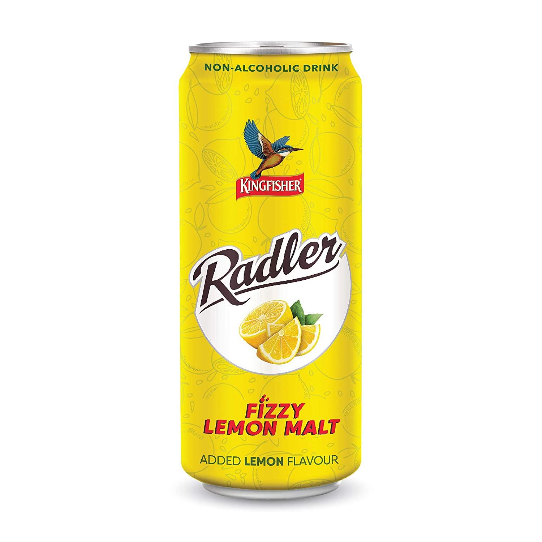 Kingfisher Radler Lemon Malt Can