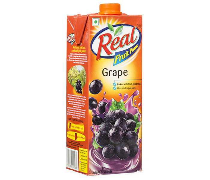 Real Fruit power Grape Juice