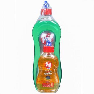 Pril Lime Dishwash Liquid 750ml + 225ml Tamarind Shine Specialist