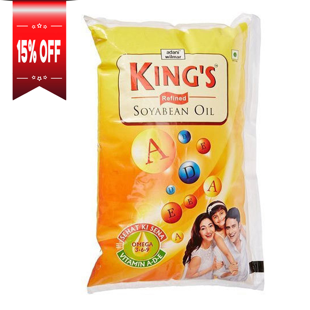 King's Refined Soyabean Oil