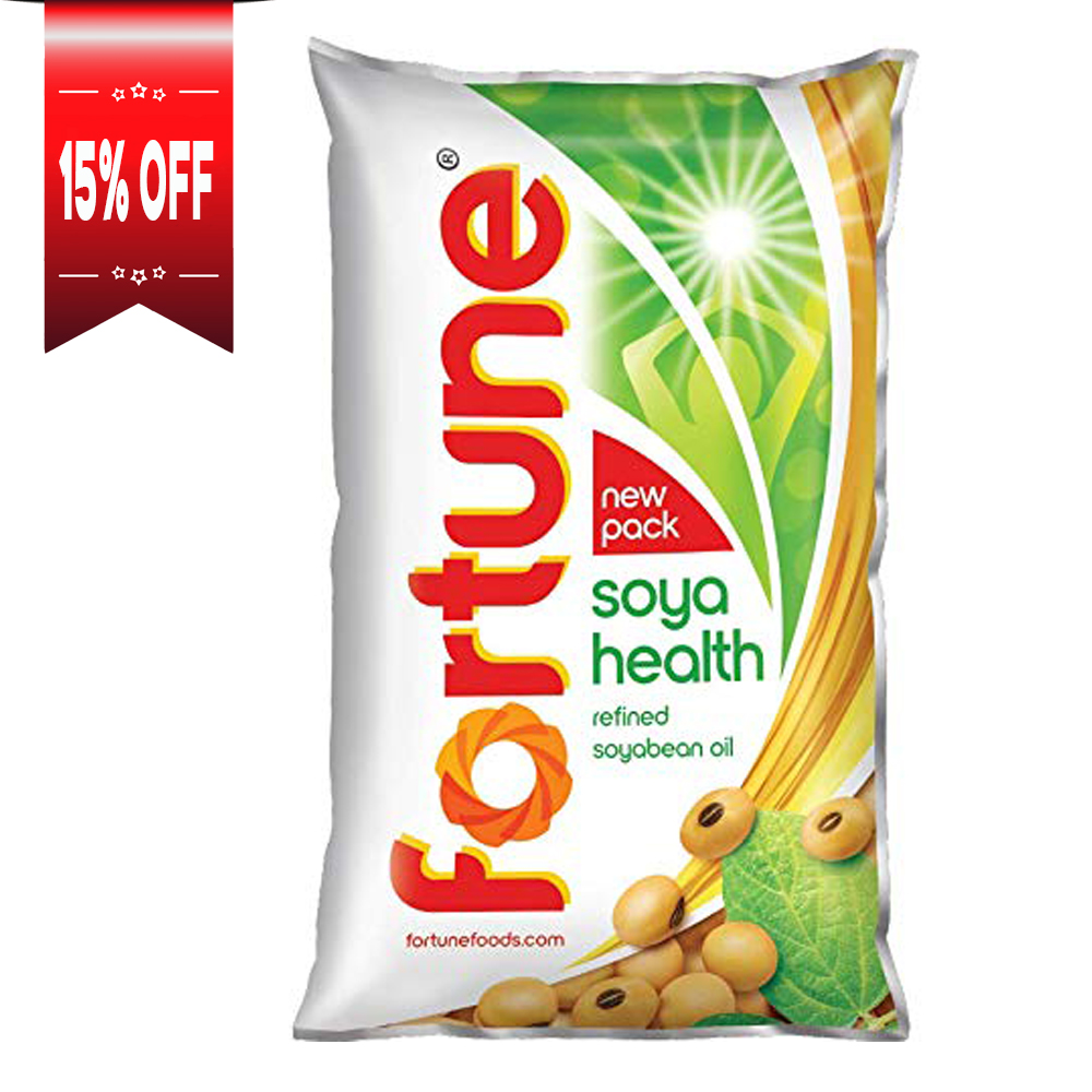Fortune Soya Health Refined Soyabean Oil