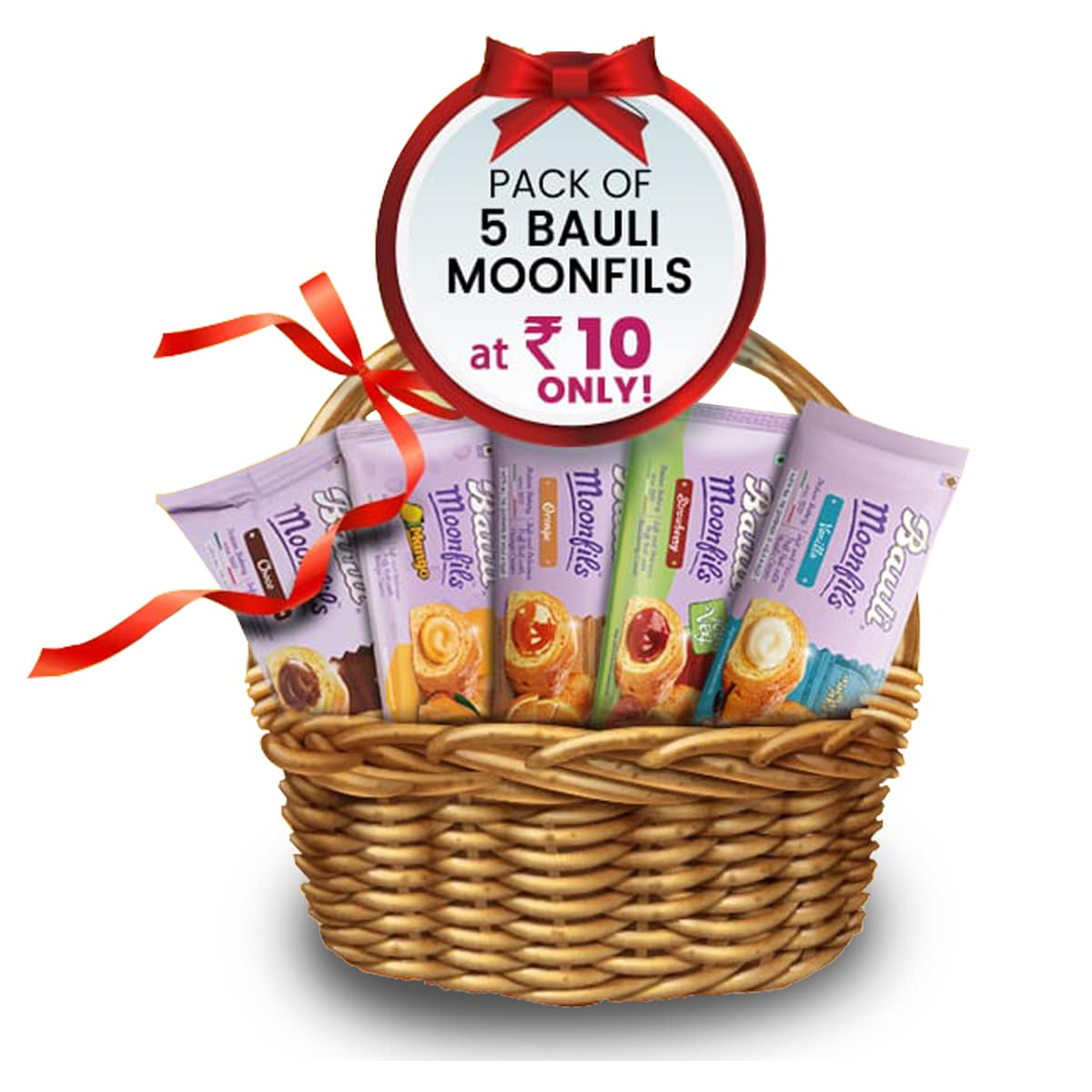Pack Of 5 Bauli Moonfils