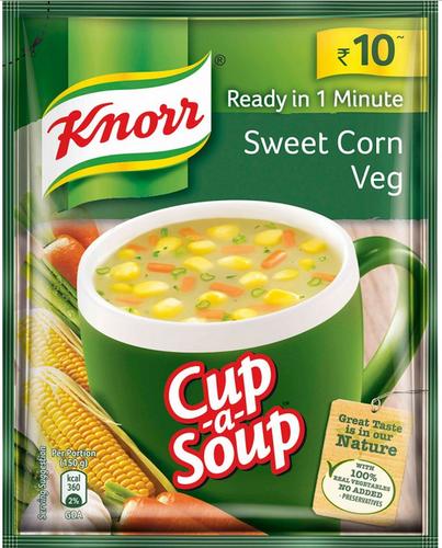 Knorr Instant Veg Soup - Sweet Corn
