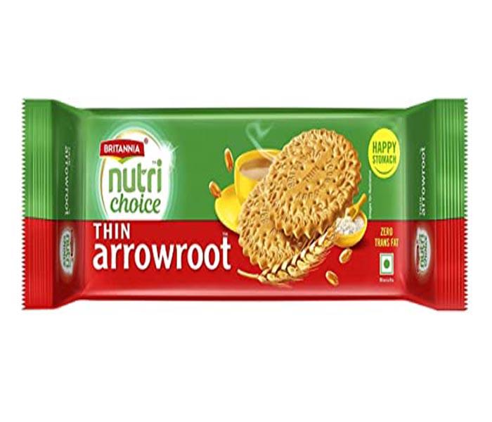 Britannia Nutri Choice, Thin Arrowroot Biscuit.