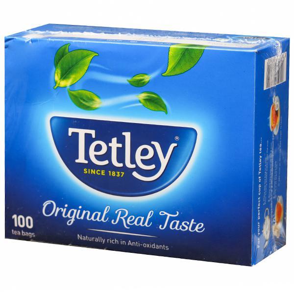 Tetley Original Tea Anti-Oxidants Tea Bags 100 x 1.7 g