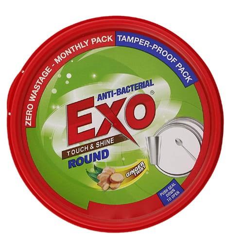 Exo Dishwash Bar - Round, Touch & Shine Ginger Twist
