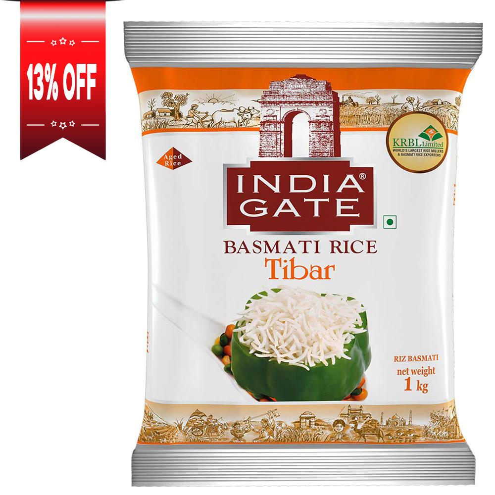 India Gate Tiber Basmati Rice