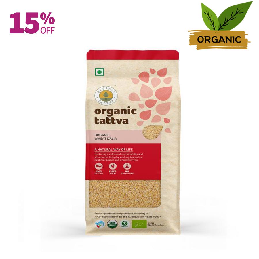 Organic Tattva Wheat Dalia