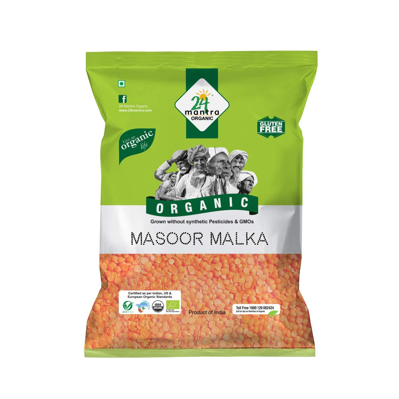 24 Mantra organic masoor malka