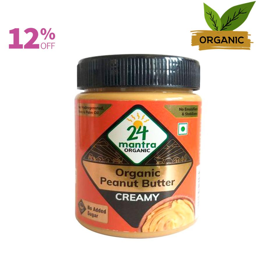 24 Mantra organic peanut butter