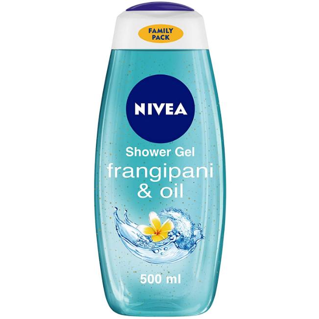 NIVEA Shower Gel, Frangipani & Oil