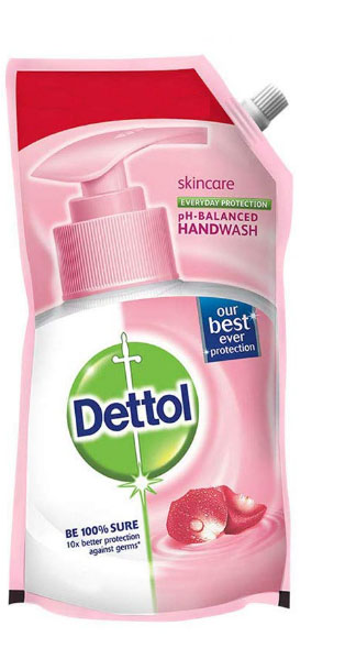 Dettol Skincare Hand Wash Pouch Pack