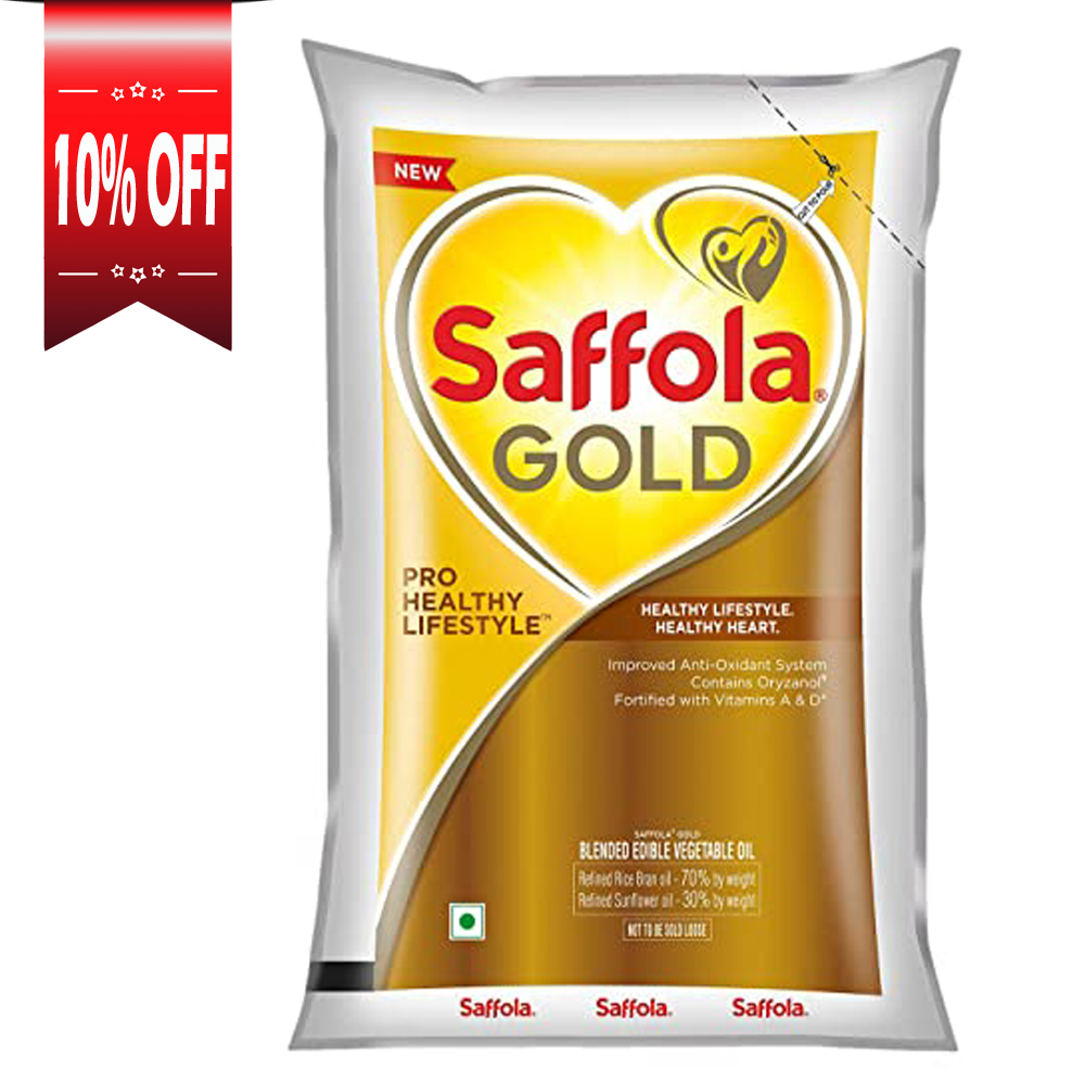 Saffola Gold, Pro Healthy Lifestyle Cooking Oil