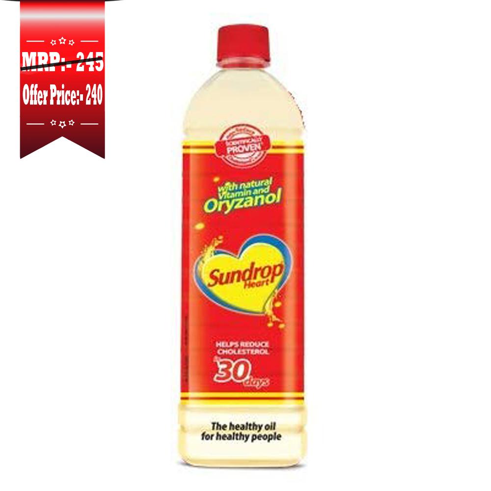 Sundrop Heart Blended Oil Bottle