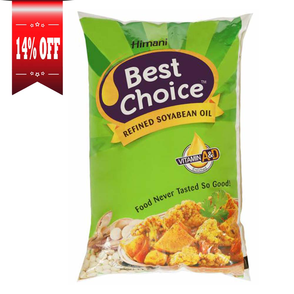 Himani Best Choice Refined Soyabean Oil Pouch