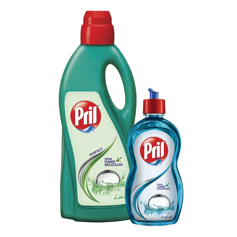 Pril Active Lime 2L Pls Free 425 ml