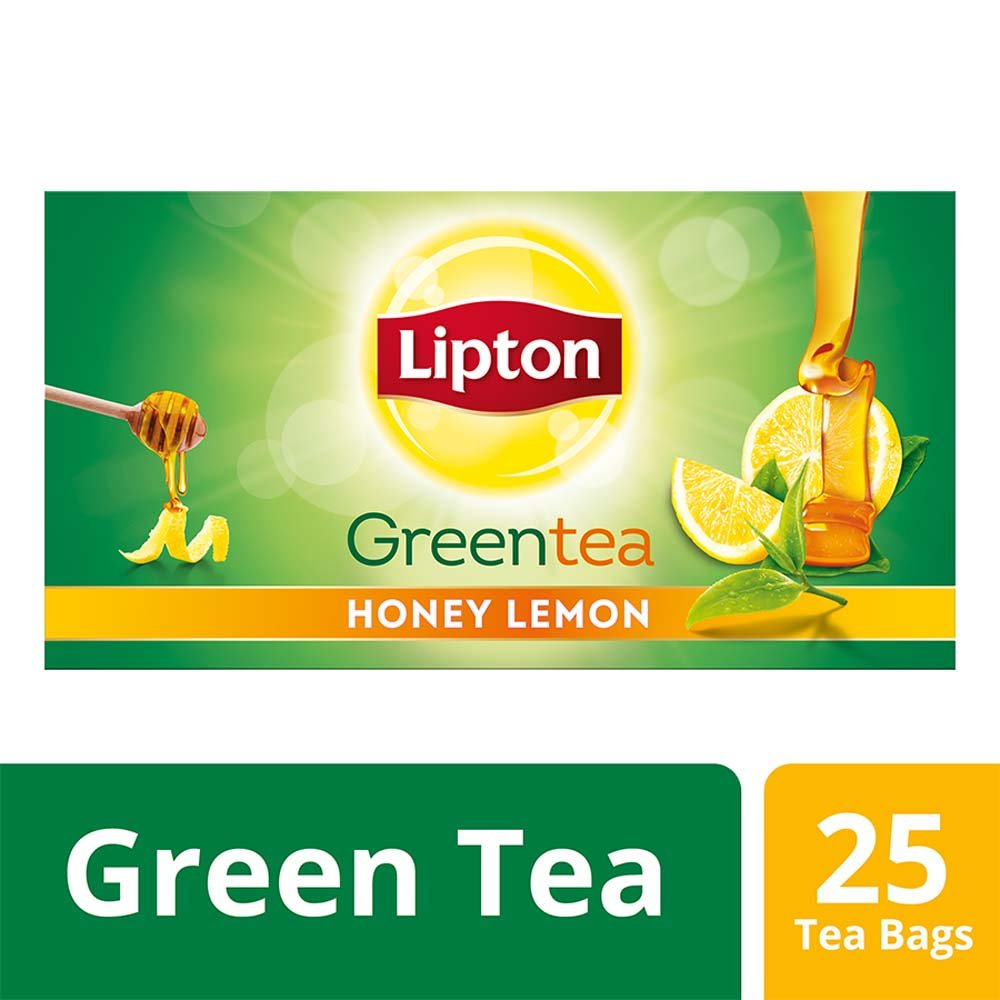 Lipton Green Tea Honey Lemon, 25 Tea Bags