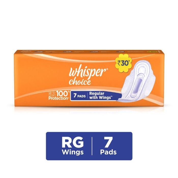 Whisper Choice Wings, 7 Pads